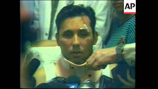 Download COLOMBIA: AMERICAN AIRLINES PLANE CRASH: SURVIVORS REACTION Video