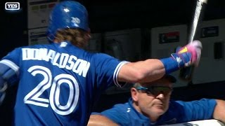 Download TOR@NYY: Donaldson slams bat, disputes with Gibbons Video
