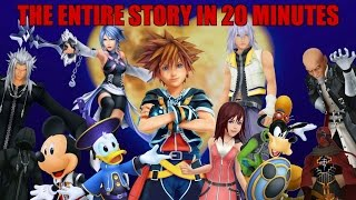Download The Entire Story of Kingdom Hearts in Under 20 Minutes Video
