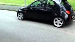 Download Mela`s Ford Ka ( Sportka ) mit Sierra Cosworth Felgen Video