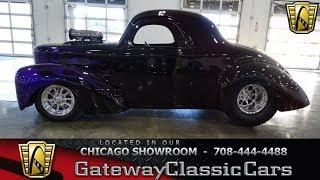 Download 1941 Willys Coupe Gateway Classic Cars Chicago #1324 Video