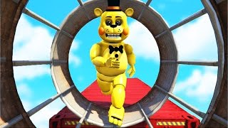 Download ULTIMATE TOY ANIMATRONICS DEATHRUN! (GTA 5 Mods FNAF Funny Moments) Video