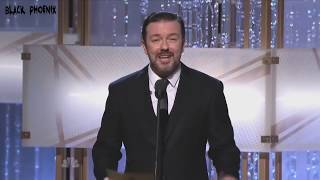Download Ricky Gervais Mono-Open Golden Globes 2010-2011-2012 Video