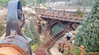 Download Seven Dwarfs Mine Train Roller Coaster REAL POV Full Ride Walt Disney World Magic Kingdom Video