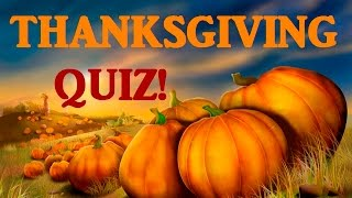 Download Trivia Quiz on Thanksgiving! History, Origin, and Fun Facts! Video