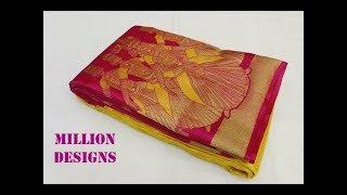 Download 18 Beautiful Designer Kanchipuram Sarees at Weaver's Price below ₹12,000 | Million Designs Video