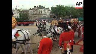 Download UK: PRESIDENT MANDELA'S ROYAL WELCOME TO BRITAIN Video