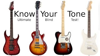 Download Know Your Tone - Blind Test Guitar Challenge! Video