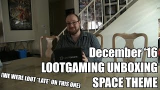 Download LootGaming Unboxing - Dec 2016 - Space Theme Video