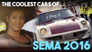 Download The Coolest Cars Rolling Out Of SEMA 2016 Video