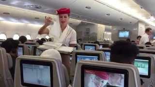 Download Emirates A380 Economy - LAX - Dubai Video