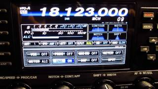 Download Yaesu FTDX 1200 DNR Digital Noise Reduction Video