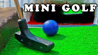 Download Mini Golf - Let's Play FOR REAL! Animal Course​​​ | Matt3756​​​ Video
