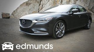 Download How Does the 2018 Mazda 6 Compare to the Toyota Camry and Honda Accord? Video