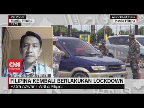 Filipina Kembali Berlakukan Lockdown