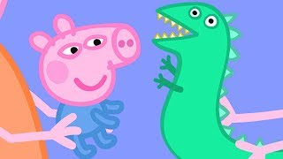 Download Peppa Pig English Episodes | Baby George and Mr Dinosaur! Peppa Pig Official Video