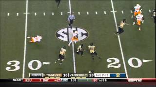 Download 11/17/2012 Tennessee vs Vanderbilt Football Highlights Video