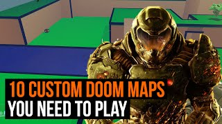 Download 10 custom Doom maps you need to play right now Video