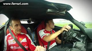 Download Fernando Alonso and the LaFerrari: ″Remember, two slow laps...″ Video