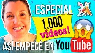 Download ¡Así empecé en YOUTUBE! * REACCIONANDO a mis primeros videos * ESPECIAL ¡¡1000 VIDEOS en el canal!! Video