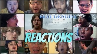 Download Best Live Death Stranding E3 REACTIONS! AWESOME!!!!!!!! HILARIOUS!!!!!!! Video