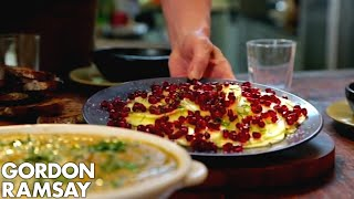 Download Gazpacho Paired With Pineapple Carpaccio, Pomegranate & Vanilla Salt By Gordon Ramsay Video
