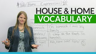 Download English Vocabulary & Expressions with HOUSE and HOME Video