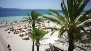 Download Playa de Alcudia / Playa de Muro / Playa de Manresa - villas4rent-majorca Video