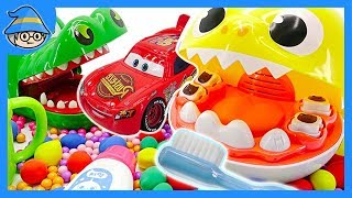 Download Disney Lightning McQueen and Baby Shark Tooth Dentist play. Video