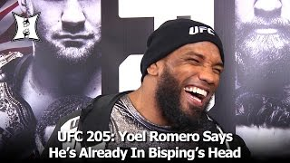 Download UFC 205: Yoel Romero Says He's Already In Michael Bisping's Head After Weidman KO Video