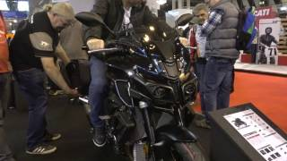 Download 2017 Yamaha MT-10 with Touring Pack @ Motorcycle Live 2016 Video