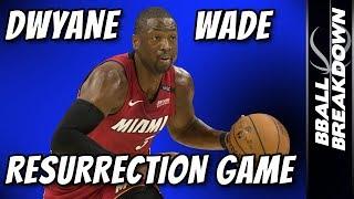 Download Dwyane Wade Resurrection Game: Sixers At Heat Game 2 Video