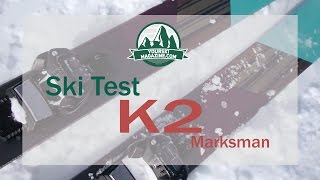 Download Ski test: K2 Marksman (season 2016-17) Video