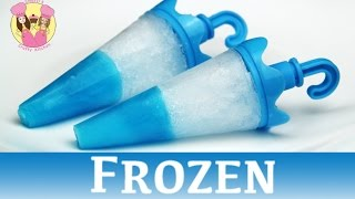 Download FROZEN JELLO TIP POPSICLES - ice lolly block pop - disney movie princess Elsa Anna Video