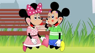 Download Mickey Mouse Baby Fighting To Protect Love Story Full Episodes! Minnie Mouse, Donald Duck Cartoon Video