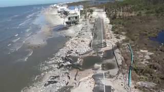 Download Hurricane Michael aftermath Chopper - Port St Joe to St George Island, FL - 10/12/2018 Video