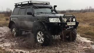 Download Испытание Nissan Patrol Y60 танковой трассой. OFF ROAD. Часть 1 Video