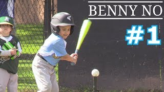 Download LUMPY'S FIRST BASEBALL GAME | BENNY NO | TEE BALL SERIES #1 Video