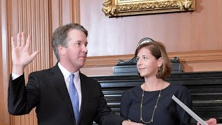 Download Brett Kavanaugh ceremonial swearing in as Supreme Court justice Video