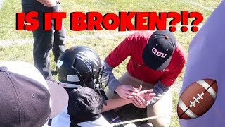 Download GAME DAY ROUTINE | INJURY EMT CALLED Video