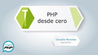 Download PHP desde cero HD parte 1 Video