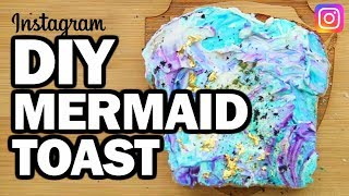 Download DIY MERMAID TOAST - Man Vs Instagram #1 Video