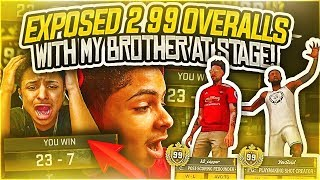 Download MY BROTHER AND I EXPOSE TWO TRYHARD 99 OVERALLS AT THE STAGE😳THEY STARTED ARGUING😂 NBA 2K18 STAGE Video
