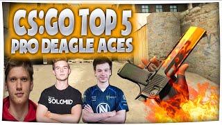 Download CS:GO - TOP 5 PRO DEAGLE ACES ft device, s1mple, Happy & More! (Insane Deagle Clips) Video