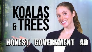 Download Honest Government Advert | Koalas & Trees Video