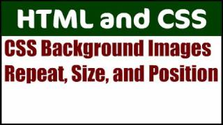 Download Background Image CSS Properties: Repeat, Size, Position Video