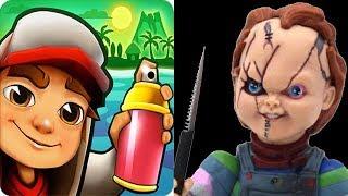 Download Subway Surfers vs Chucky Slash & Dash Video