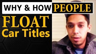 Download Why and How People FLOAT Car Titles When Flipping Cars for Profit Video