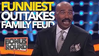 Download FUNNIEST OUTTAKES On Celebrity Family Feud! Some Answers Stump Steve Harvey! Bonus Round Video