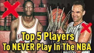 Download Top 5 Players Who NEVER PLAYED In The NBA! Video